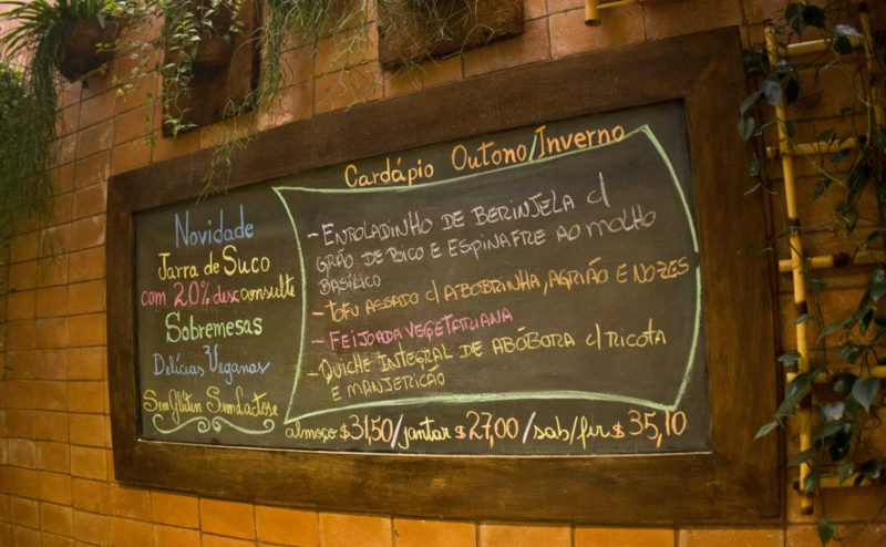 Restaurante vegetariano e vegano, Alternativa Casa do Natural, Vila Madalena Sao Paulo 2